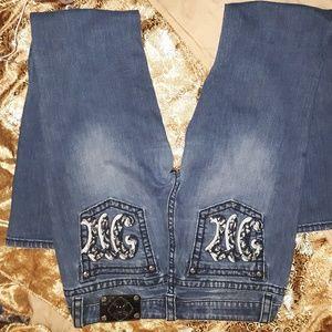 Miss Me blue Jean's boot cut, size 31